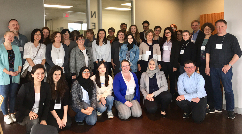 Photo: Accompanying the AERA conference, the third Integration-CAN-D Workshop took place  (© Lisa Smith/University of Toronto).