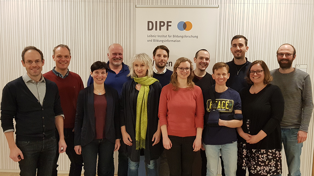 The DiFA team at the kick-off meeting (Foto: Sebastian Wollny, DIPF)