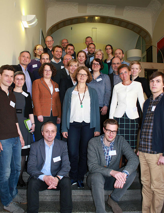 The participants of the LERN conference meeting.