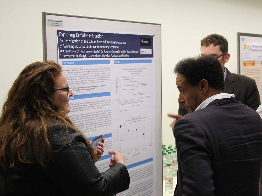 Around 200 scientists presented their research results at the well-attended poster session.