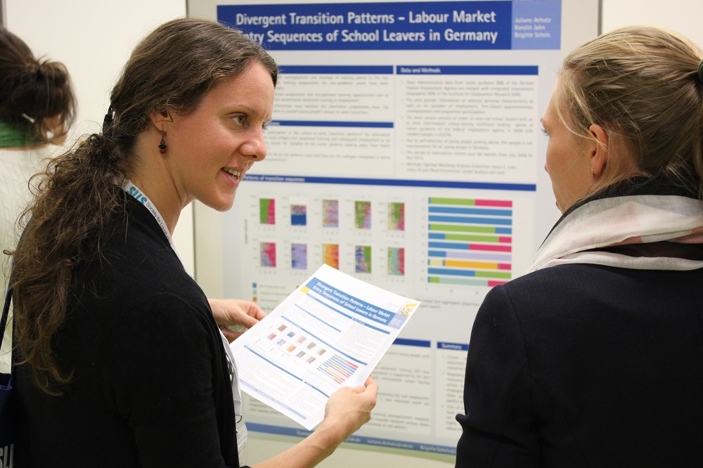 Impressions of the poster session.