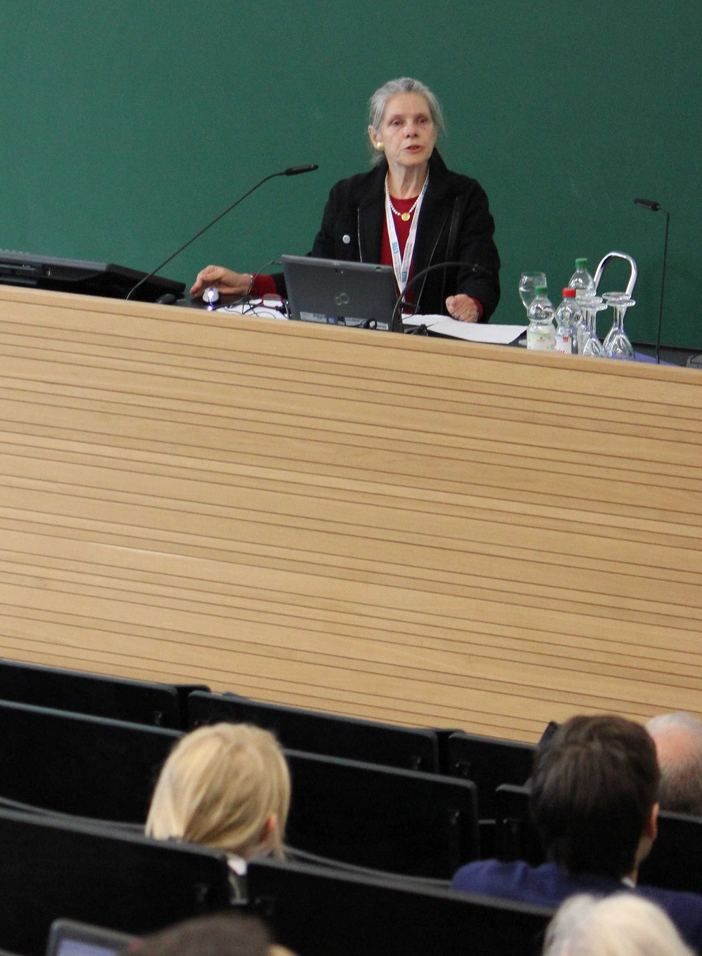 """Prof. Sabine Weinert spoke in her keynote on """"Language and Its Acquisition: Influential Conditions and Impact in Child Development""""."""
